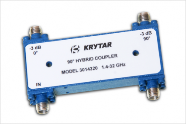 3 dB 90 Degree Hybrid Couplers (0.5 to 36 GHz) - KRYTAR