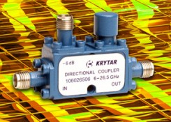 Press Release – KRYTAR Announces a New, Compact, Directional Coupler with 6 dB Coupling Over the 6.0 to 26.5 GHz Frequency Range