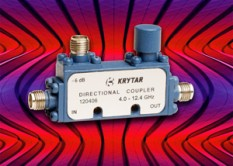 KRYTAR Announces New Compact Directional Coupler with 6 dB Coupling Over 4.0 to 12.4 GHz Frequency Range