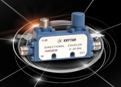 Press Release – KRYTAR Announces a New, Compact, Directional Coupler with 30 dB Coupling Over the 4.0 to 20.0 GHz Frequency Range