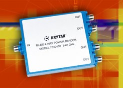 Press Release – New Compact, Ultra-Broadband 3 to 40 GHz, MLDD 4-Way Power Divider