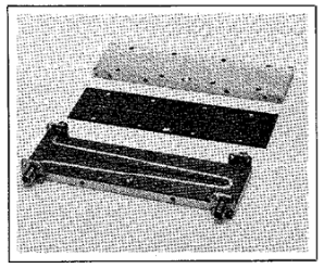 Fig. 3 Model 1230 with cover and top dielectric board removed.