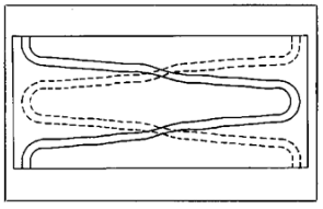 Fig 4. Coupler board conductor pattern.