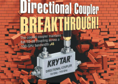 KRYTAR Coupler Featured in Microwaves & RF Magazine